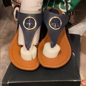 Tommy Hilfiger Dark blue thong sandals brand new